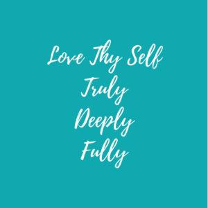 Self-care equals self-love by ChristinaChandra.com
