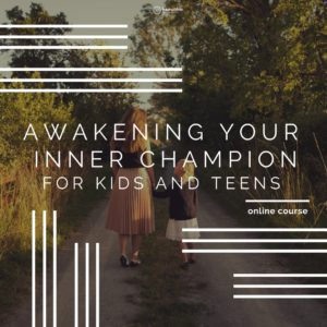 kids and child positivity, inner champion course