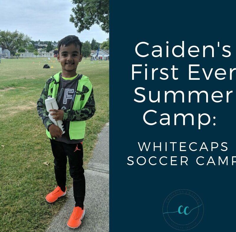 First Summer Soccer Camp: Whitecaps Soccer Camp by ChristinaChandra.com