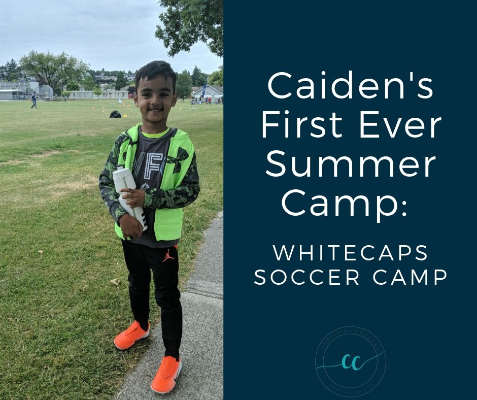 First Summer Soccer Camp: Whitecaps Soccer Camp by ChristinaChandra.com