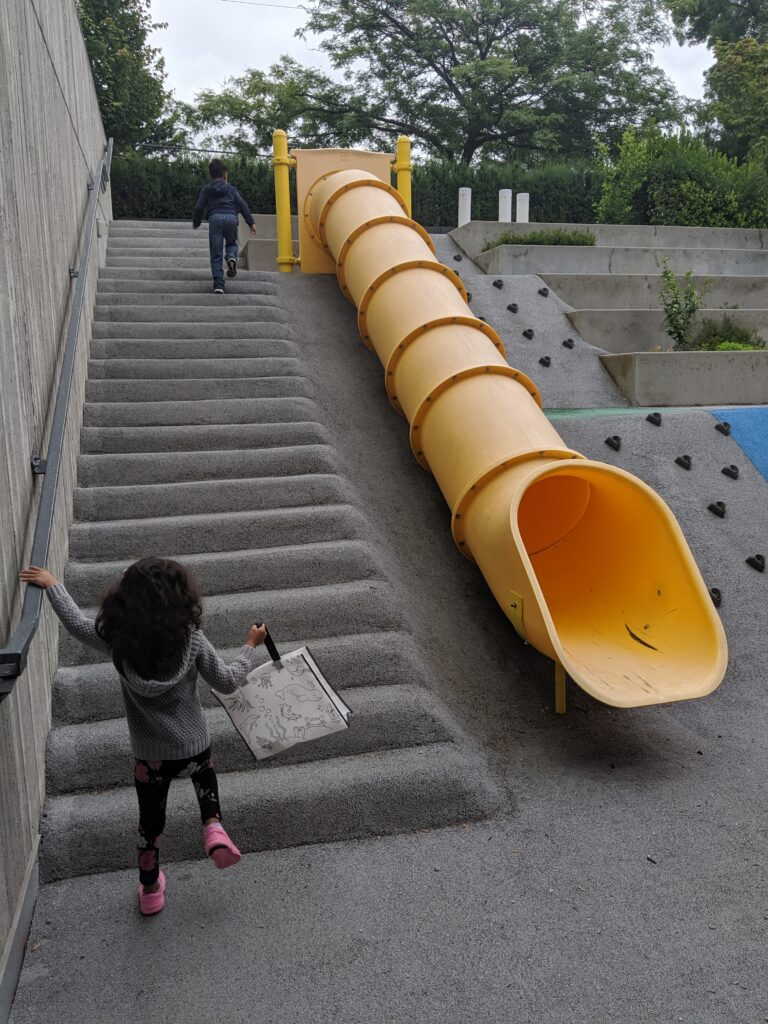 Ronald McDonald House slide