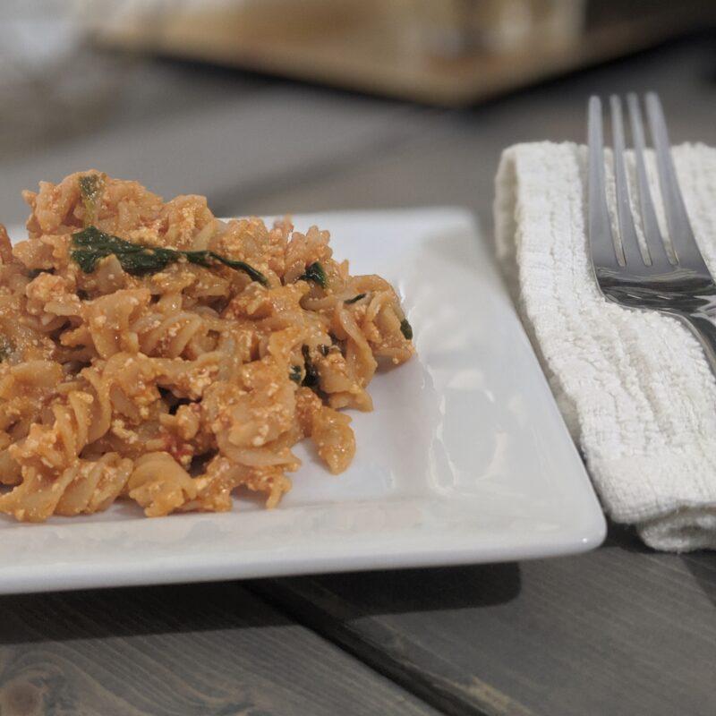 ricotta and tomato pasta sauce