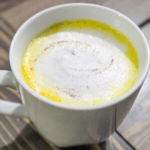 turmeric latte - golden milk by christinachandra.com