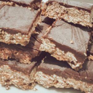 Christina Chandra chocolate oat bars