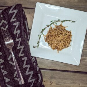 creamy spaghettini by Christina Chandra