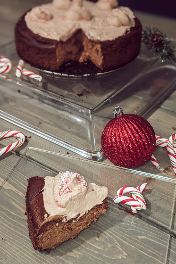 chocolate cheesecake for the holidays_christina chandra