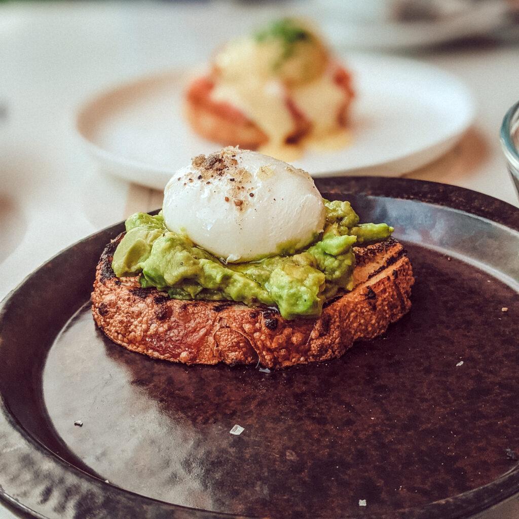 avocado toast brunch at ARC