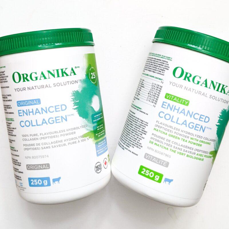enhanced organika collagen products