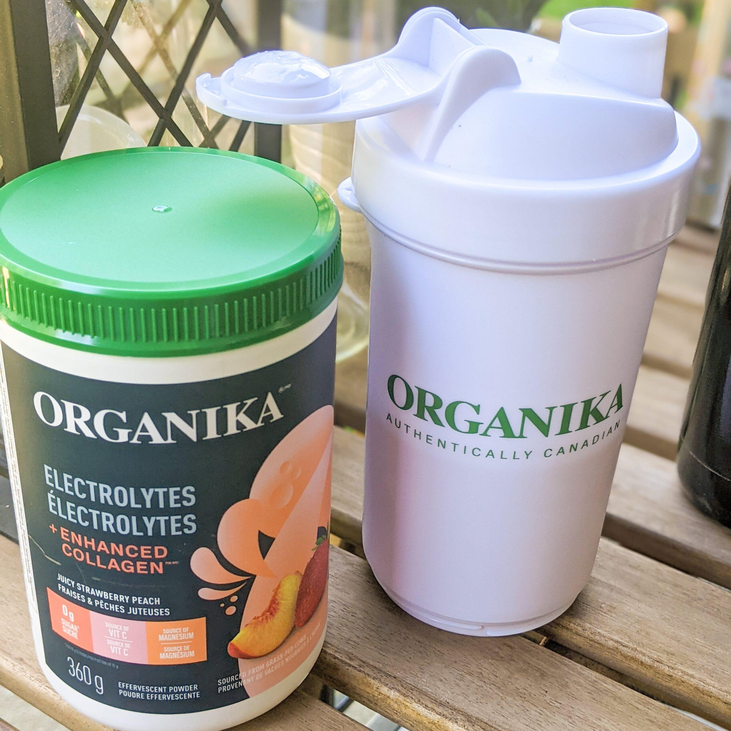 organika electrolytes and enhanced collagen